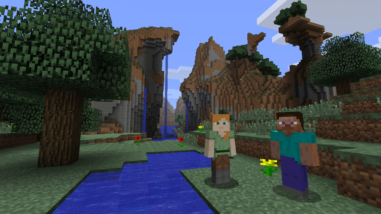 Minecraft (screenshoot)